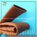 Tipo di manicotto a temperatura elevata tubo dell'isolamento e di applicazione dello Shrink di calore di Raychem della sbarra collettrice