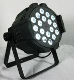 18*15W RGBWA (luz de la IGUALDAD de la colada LED de la etapa) 6 In1 ULTRAVIOLETA