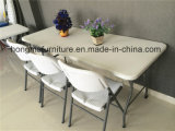 6FT Hotsaleの屋外の使用のためのプラスチック折りたたみ式テーブルの新式
