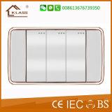 Стенная розетка Америка шатии фабрики 1 перекидного переключателя Wenzhou электрическая