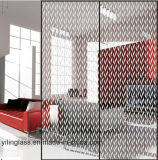 색깔 옷장을%s 패턴에 의하여 인쇄되는 문 유리
