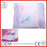 Fournisseur féminin remplaçable de serviettes hygiéniques de coton en Chine avec le prix bon marché