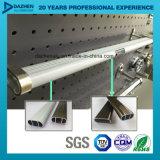 Het Profiel van de Uitdrijving van het Aluminium van het aluminium voor het Hangen van de Staaf van de Buis van de Garderobe