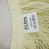 Sacchetto di Tote puro materiale amichevole della maglia del sacchetto netto del cotone di Eco