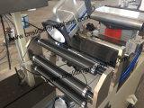 Inspección de la etiqueta de la camisa y rebobinado Machine