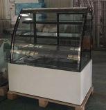 Koelkast van het Dessert van de Showcase van de Cake van vier Planken de Roestvrij staal Gebaseerde (KT730A-S2)