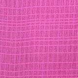 Bulle de tissu de polyester pour les femmes Vêtement ondulée