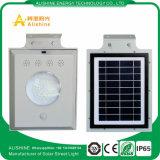 5W todo en una luz de calle solar de la inducción infrarroja
