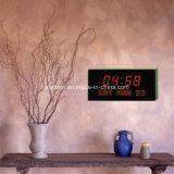 Reloj llevado electrónico grande de la pared digital Muestra Tiempo / Día de la semana / Fecha