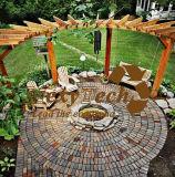Foshan 나무로 되는 조경 큰 천막, Arc-Shaped 정원 Pergola.
