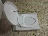 Ts-1002 удлиненные туалет и биде Non-Electronic сиденья сиденья для Америки V-образный туалет