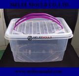 プラスチック収納箱のための混戦型