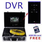 7 '' scolo dello schermo DVR di Digitahi/video macchina fotografica 7D controllo della fogna/tubo/camino