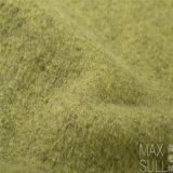 Tessuto di /Polyester delle lane con buona elasticità per l'autunno nel verde