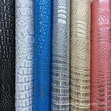 Le crocodile neuf Shinny le cuir de Faux de PVC