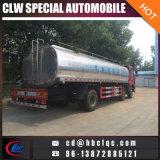 Caminhão fresco do transporte do leite do caminhão do depósito de leite de FAW 15000L
