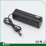 Escritor magnético do leitor de cartão do Stipe do USB Msr206 compatível com o leitor de cartão magnético Msr606 do USB