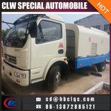 Caminhão de vácuo de 6m3 Veículo de sucção suja