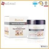 Piel natural de Washami el 100% mejor que blanquea la crema para la cara y la carrocería