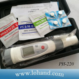 Neues konzipiertes pH/Temp pH-Meter pH-220
