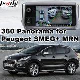 Interfaccia di panorama 360 & di retrovisione per Peugeot 208 308 508 2008 con lo schermo del getto dell'input di segnale del sistema Lvds RGB di Smeg+ Mrn