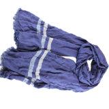 Gemischter Mann-Schal der Custom70% Viskose-30% Wollen