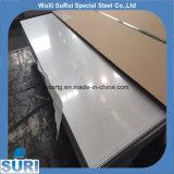 Plaque gravée en relief d'acier inoxydable