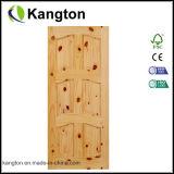 Porte en bois d'aulne (KD02B) (porte en bois solide)
