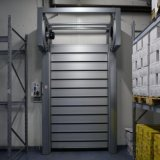 Windundurchlässiges Metalschnelle Rollen-Blendenverschluss-Tür der Fertigung (HF-J15)