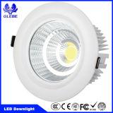 3 años de alta del Ce IP54 de la garantía de RoHS MAZORCA brillante 15W 20W 30W LED Downlight de la UL