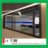 Portello scorrevole di vetro di alluminio resistente di nuovo disegno grande
