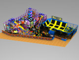 Maison de poupée Trampoline Aire de jeux (QL--034)