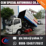 판매를 위한 4*2 진공 도로 스위퍼 트럭