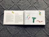Notebook em espiral para elaboração de pintar o Graffiti Livro Branco