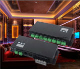 24のチャネルDMX512のデコーダー12-24VDCによる3A
