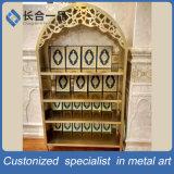 304#Stainless Coran en bronze vert en acier Bookrack pour la mosquée