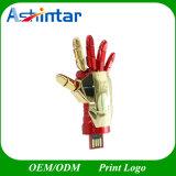 Lecteur flash USB en métal de clé de mémoire USB de Pendrive de mains