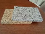 Piedra a grano pintado paneles de aluminio de nido de abeja exterior revestimiento de la pared