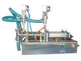 Máquina de rellenar líquida de las pistas dobles/máquina de rellenar del agua/llenador líquido