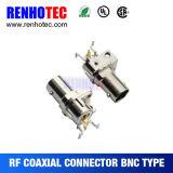 Connecteur coaxial femelle à angle droit de BNC