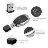 Kreative Luxuxauto-Schlüssel USB-Blitz-Laufwerk-Funktionseigenschaft-Großhandelssimulation