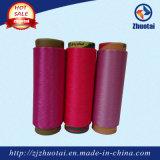 filato tinto stimolante 100% di stirata di Hight del poliestere 75D/36f/2