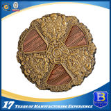 Античная воинская монетка возможности сувенира с двойной плакировкой (Ele-C205)