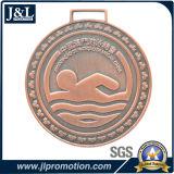 Античный латунный медальон конструкции клиента медали