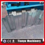 Stahl glasig-glänzende Fußboden-Plattform-Fliese walzen die Formung der Maschine kalt