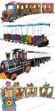 Электрический Trackless поезд, в нескольких минутах ходьбы поезд в парк развлечений (BJ-ET21)