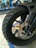 Dos Águilas de forma de zapatos de bloqueo de disco de motocicletas, batería de bloqueo de alarma de coche, bicicleta de bloqueo antirrobo y candado de bicicleta