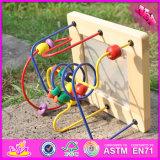 Scherzt neue Form des Entwurfs-2016 hölzerne Labyrinth-Spielzeug-Kugel W11b129