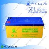 Batería solar profunda recargable del ciclo 12V 200ah de Whc para la Sistema Solar