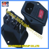 Interruptor Rocker Iluminado, Microswitch (JR-101-1F)